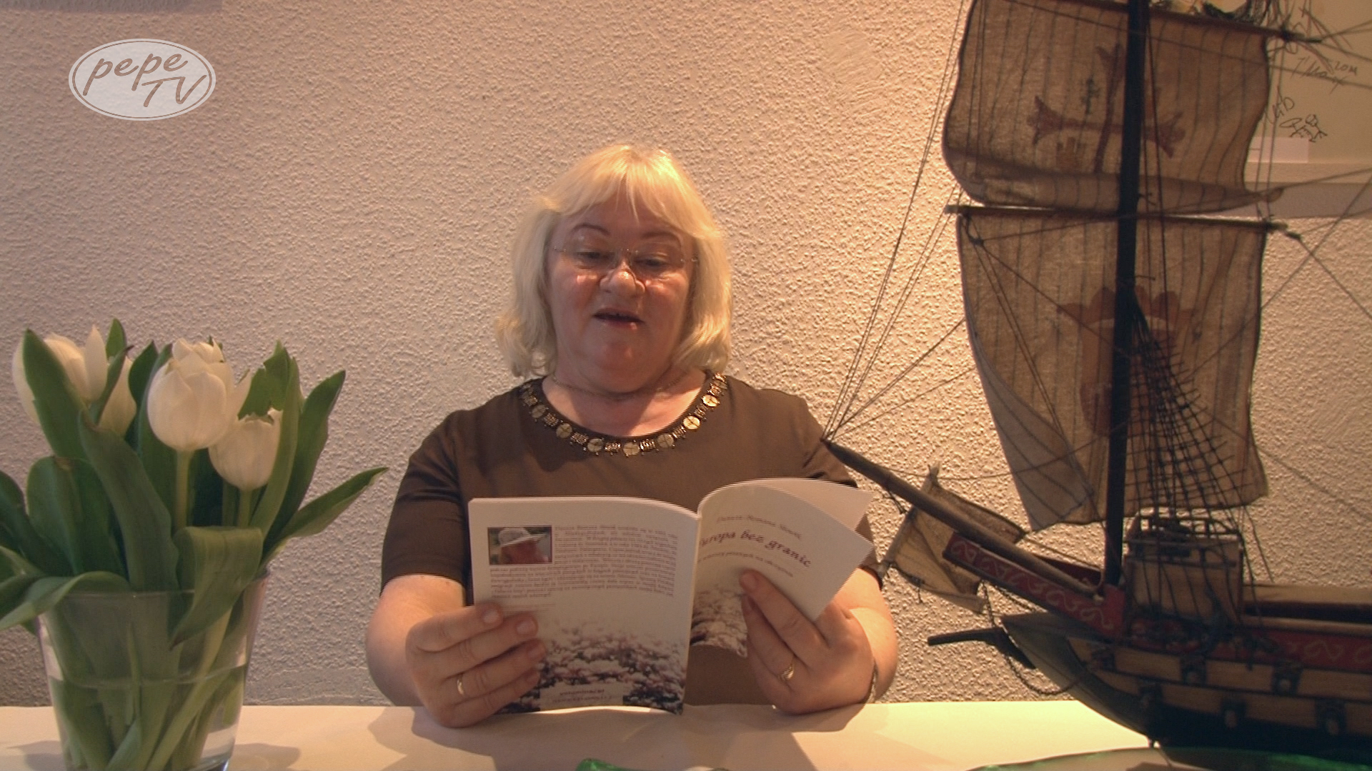 Poezja w PepeTV Danuta Romana Słowik
