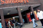 Sainsbury supermarket in London