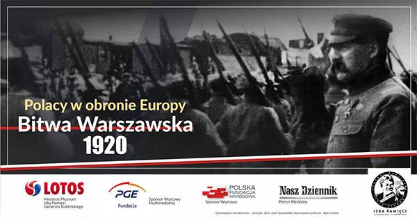 Polacy w obronie Europy – Bitwa Warszawska 1920